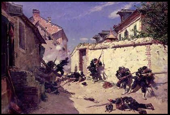 FP War - Metz 1870, streetfighting